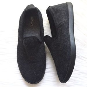 Allbirds Wool Lounger Slip On Shoes 7 Dark Gray